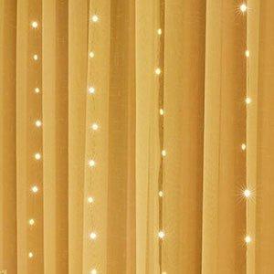 warm-white copper wire fairy lights