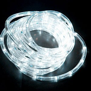 white LED neon rope lights supplier factory