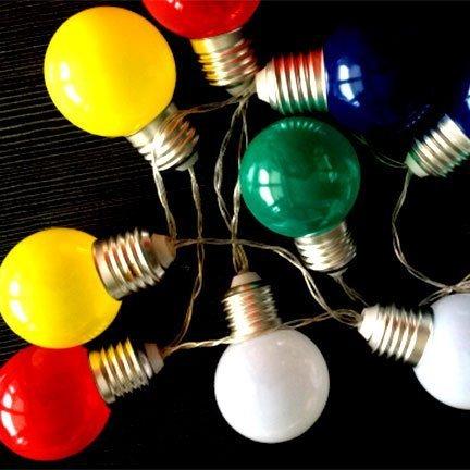 Battery globe shape string lights