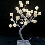 Pre-lit small led tree