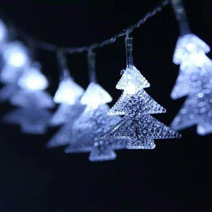 christmas tree string lights battery powered