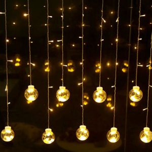 Manufacture LED fairy lights curtain string home decor