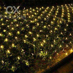 ChristmasWarm White Led Net Lights For Bushes