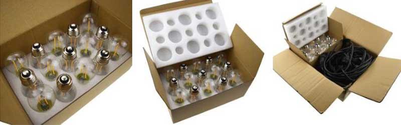 LED festoon lights Package