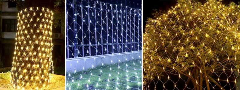 Christmas net lights' application