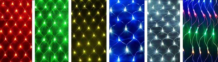 led net lights different-color