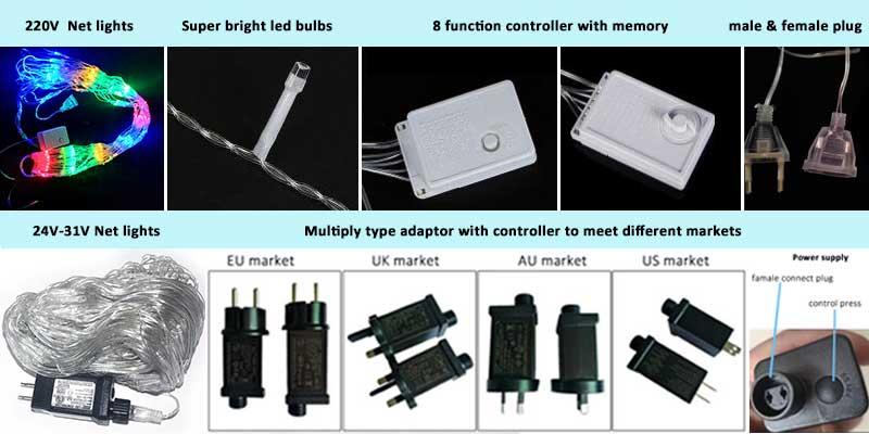 net lights details
