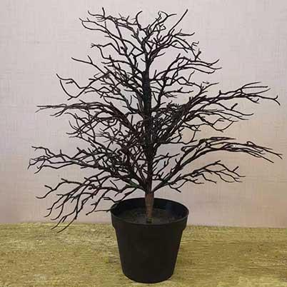 Artificial Halloween tree decorations