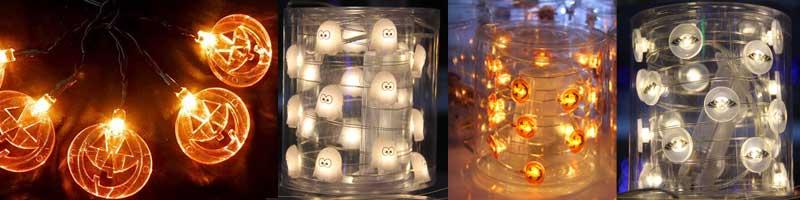 Halloween decorations lights