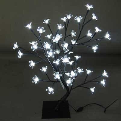led tree cherry blossom