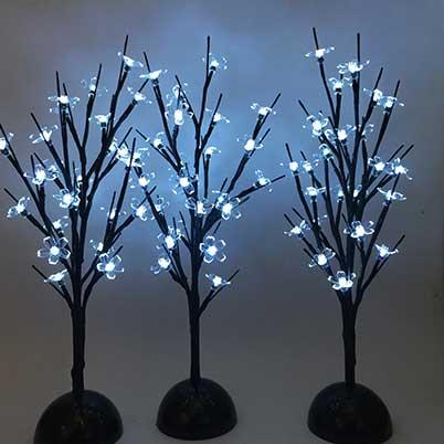 led tree indoor decor lights