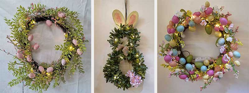 wholesale Spring Easter wreath supplies